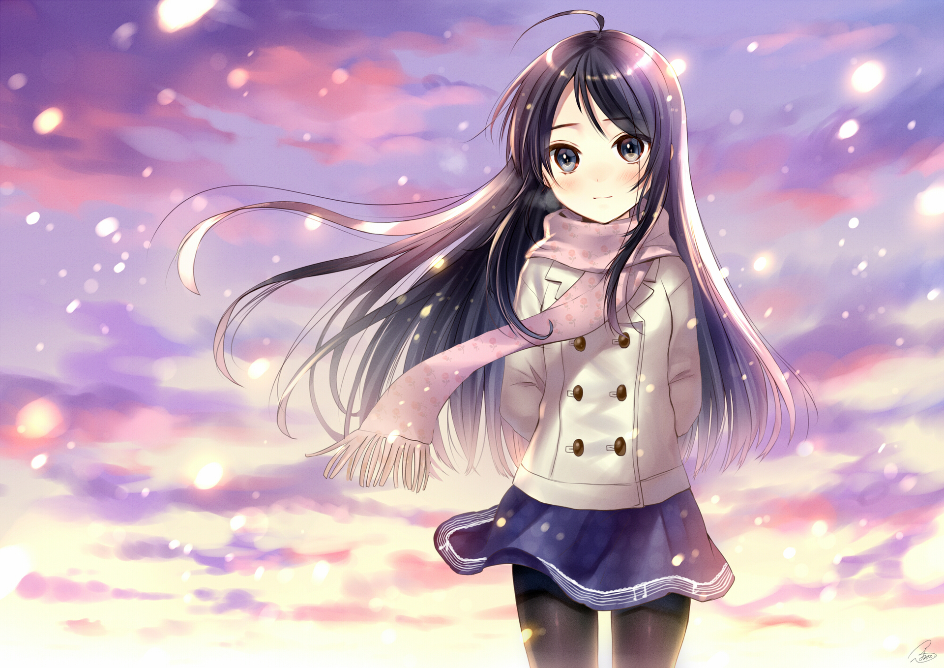Картинка аниме девочек